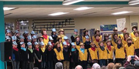 """Rails and Trails""- Grade 4 Music Concert"