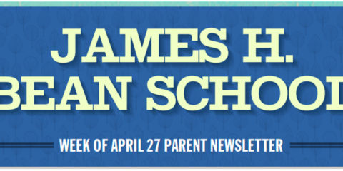 Week of April 27th Parent Newsletter