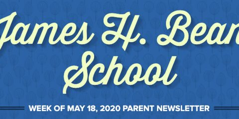 JHB Week of May 18th, 2020 Parent Newsletter