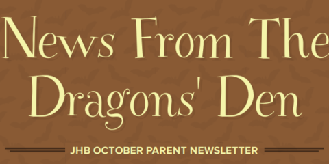 News from the Dragon's Den ~ October
